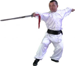Sifu Tu with the double edge sword